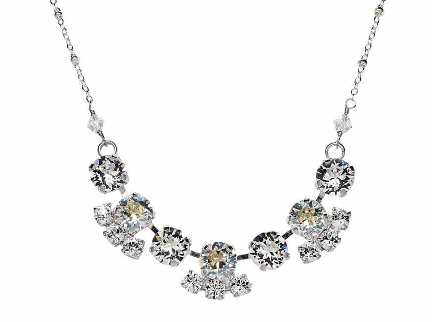 Jewelry photographer samples - Swarovski necklace