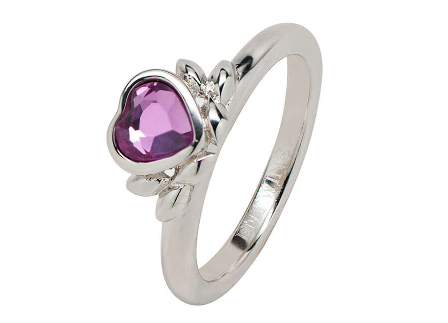 Jewelry photographer samples - Pink stone ring