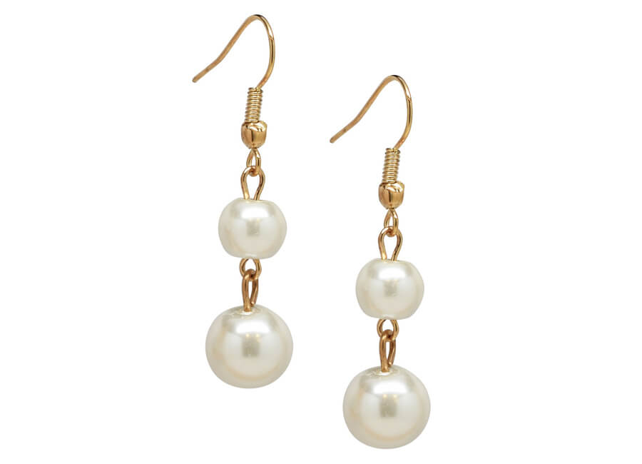 Jewelry photographer samples - Pearl earrings